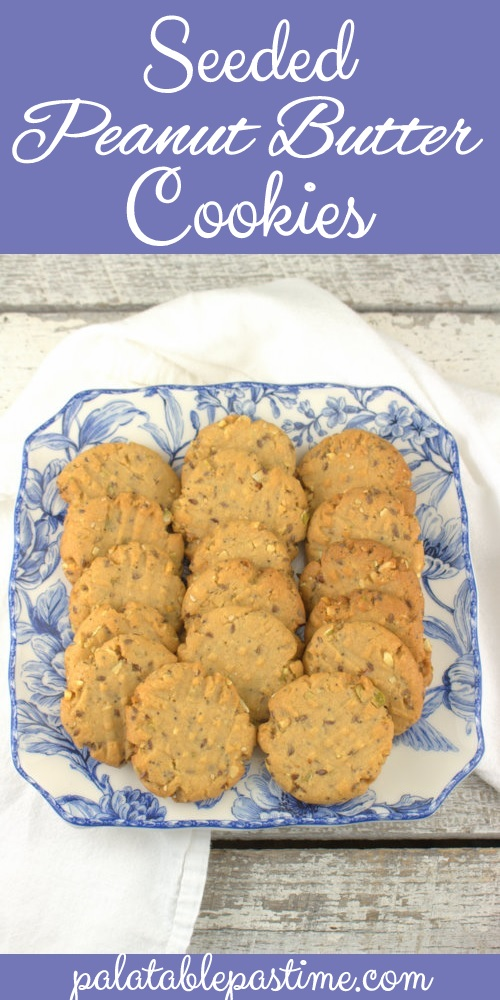 Seeded Peanut Butter Cookies