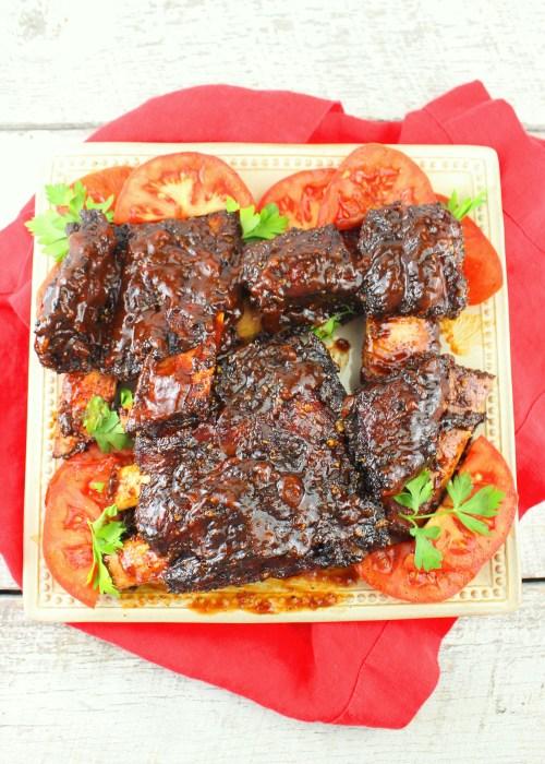 Texas Style Smoked Beef Ribs