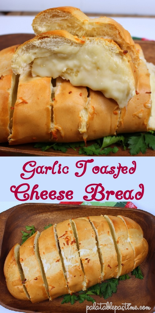 Garlic Toasted Cheese Loaf