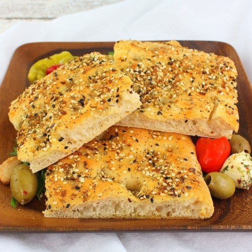 Savory Seeded Focaccia