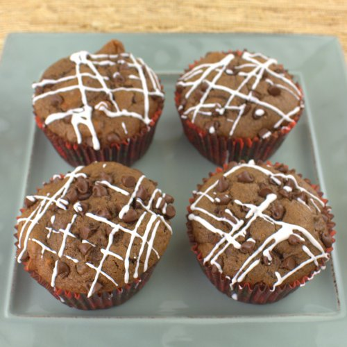 Apple Nutella Chip Muffins