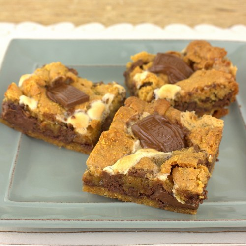 Nutella S'Mores Bars