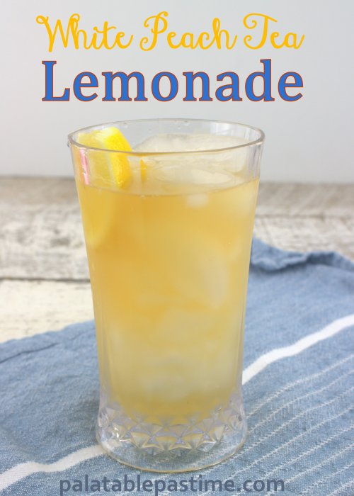 White Peach Tea Lemonade