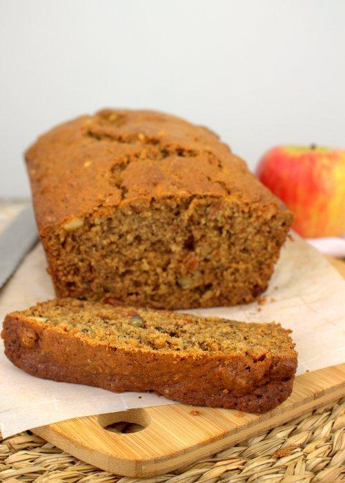 Applesauce Nut Bread