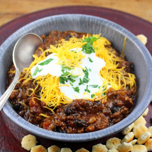 Hatch Pepper Beer Chili