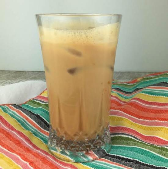 Iced Dulce de Leche Latte