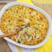 Baked Chicken Alfredo Casserole