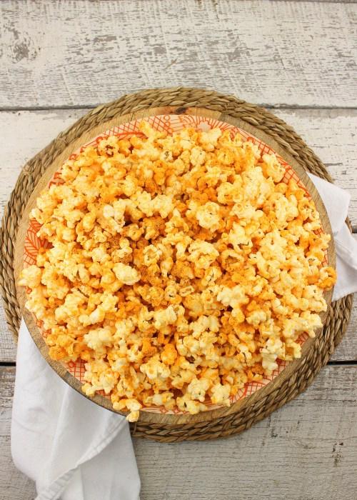 Ghost Cheddar Popcorn