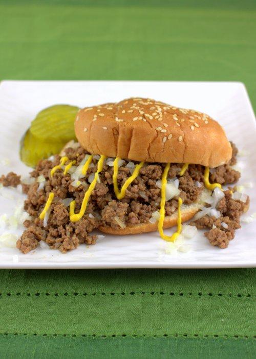 Pressure Cooker Tavern Sandwiches (Iowa Loosemeat)