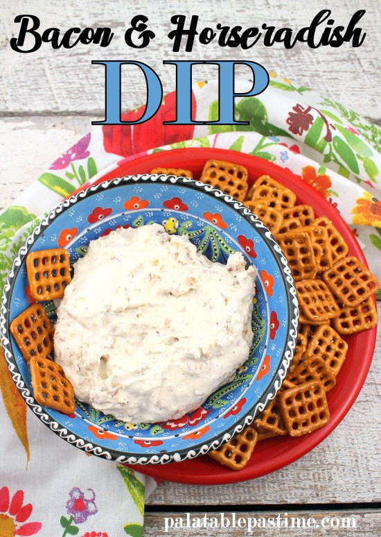 Savory Bacon and Horseradish Dip