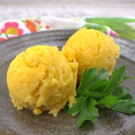 Sweet Corn Cake (Tamalitos