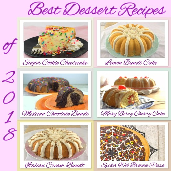 Best Dessert Recipes of 2018