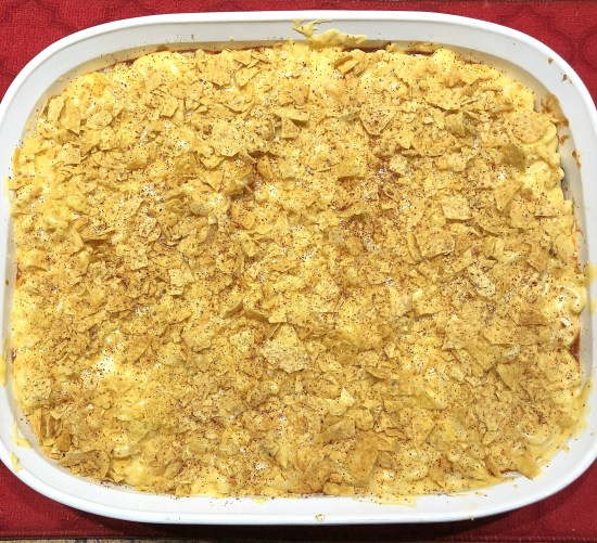 top with crumbled chips