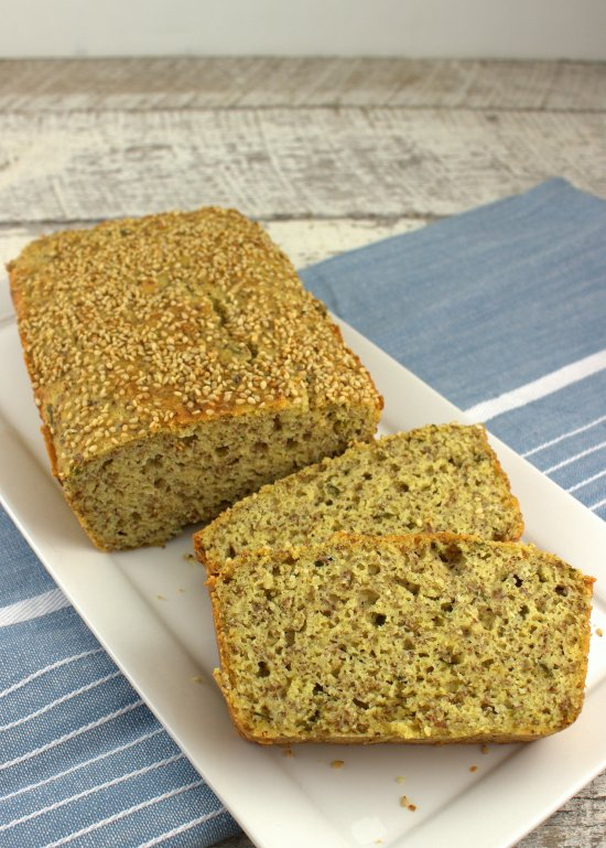 Savory Almond Meal Bread