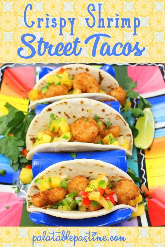 Crispy Shrimp Street Tacos