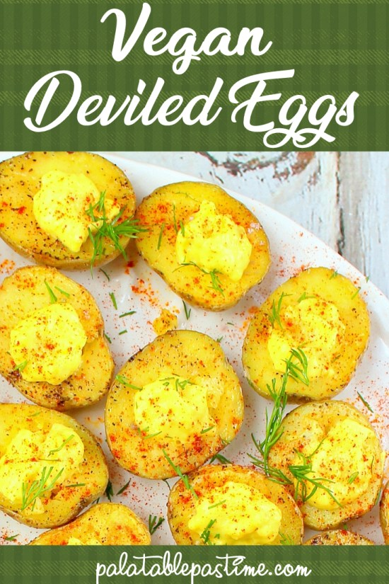 Vegan Deviled Eggs