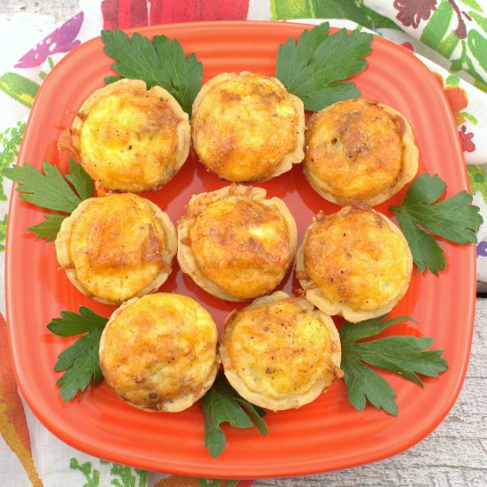 Bacon and Scallion Mini Quiche