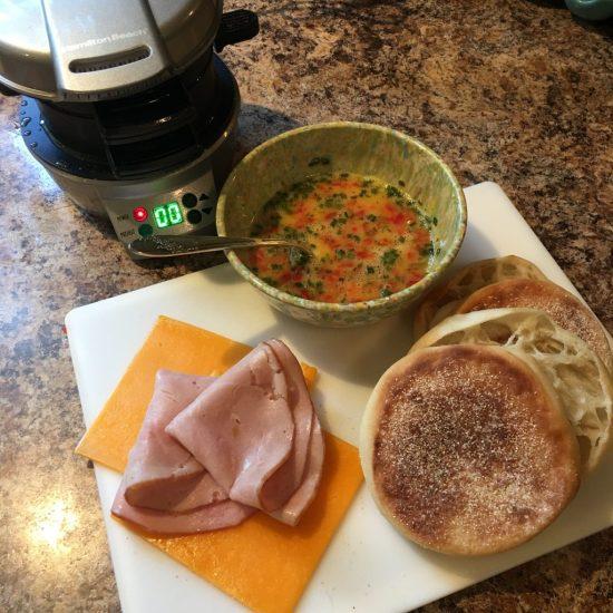 Assembling sandwich