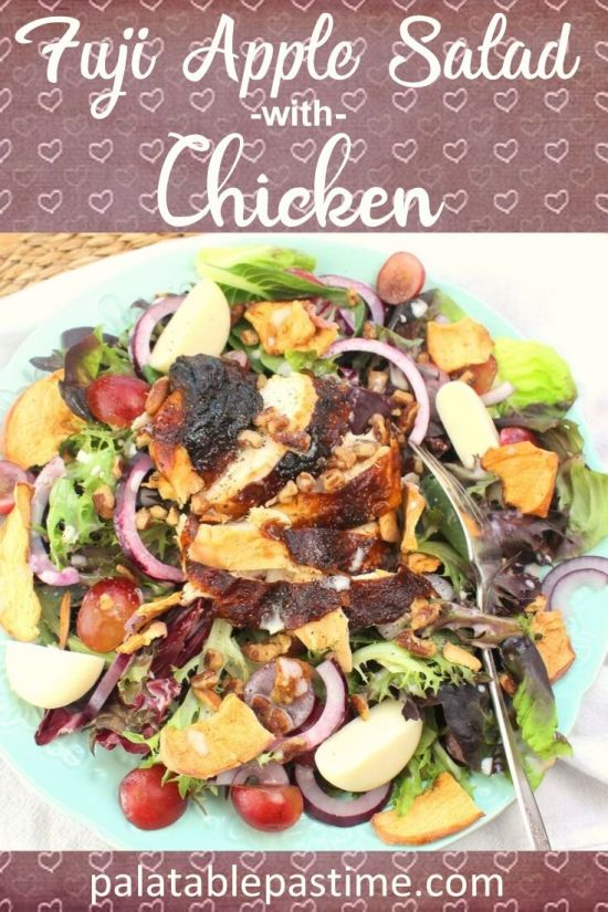 FujiApple Salad with Chicken