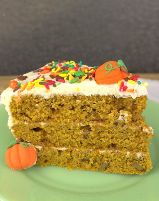 Harvest Pumpkin Layer Cake