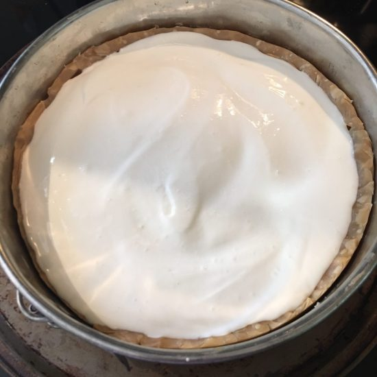 Sour Cream topping layer