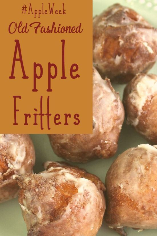 Old-Fashioned Apple Fritters