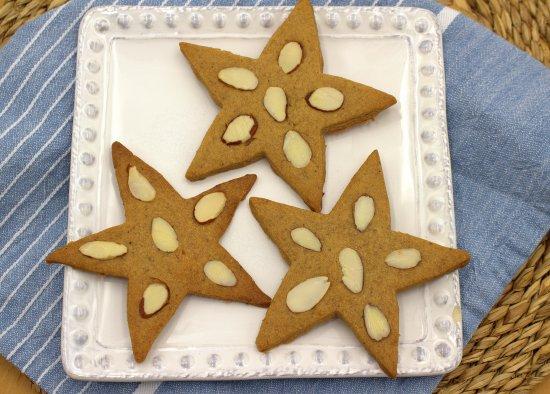 Speculaas Stars Cookies