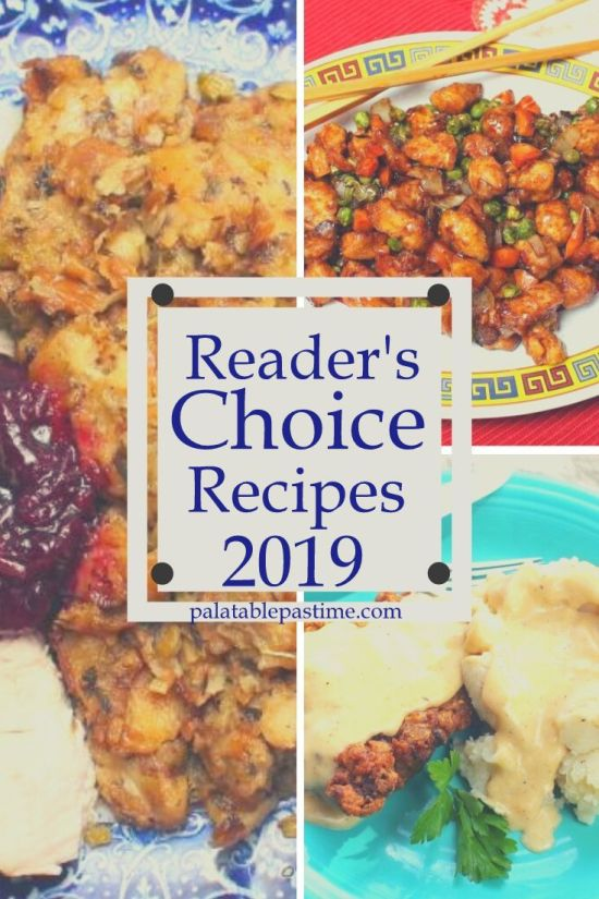 Countdown to 2020: Reader's Favorite Recipes