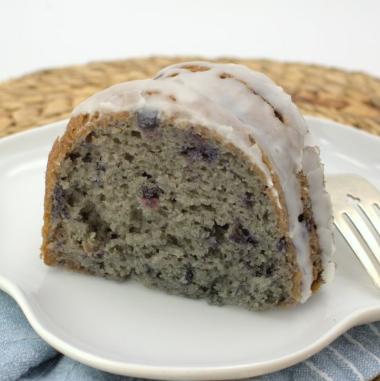 5-Ingredient Blueberry Bundt Cake