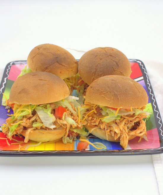 Fiesta Chicken Sandwiches