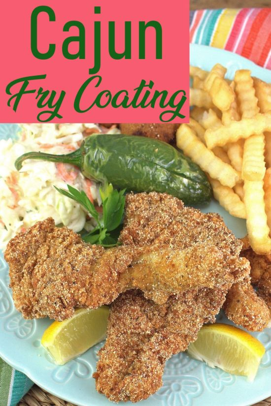 Cajun Fish Fry Coating