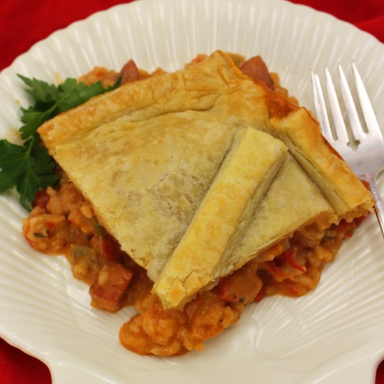 Jambalaya Pot Pie