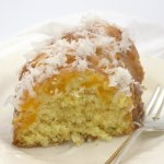 6-Ingredient Mango Coconut Bundt Cake