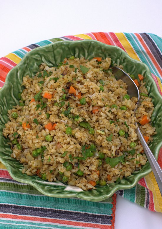Vegetable Herb Rice