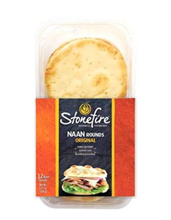 Stonefire Naan bread rounds