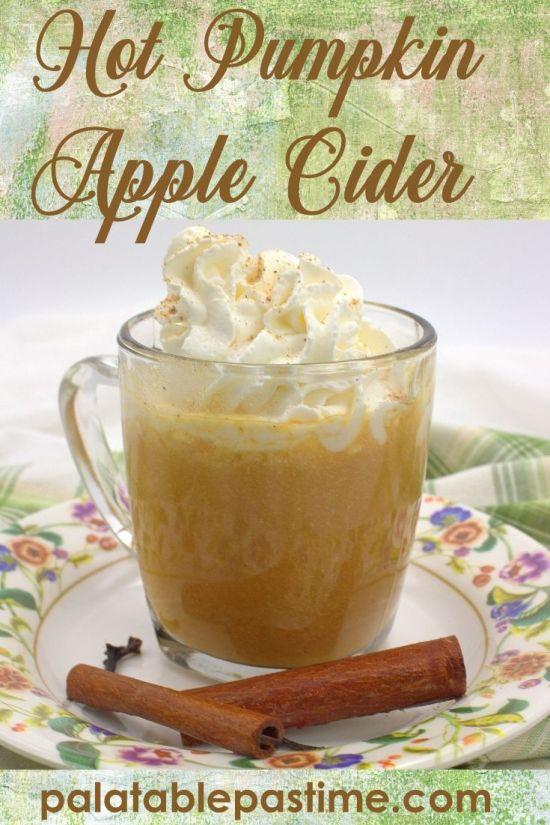 Hot Pumpkin Apple Cider