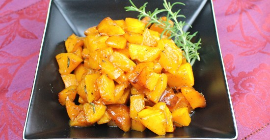 Sweet and Savory Roasted Butternut Squash