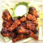 Dry Rub Buffalo Chicken Wings