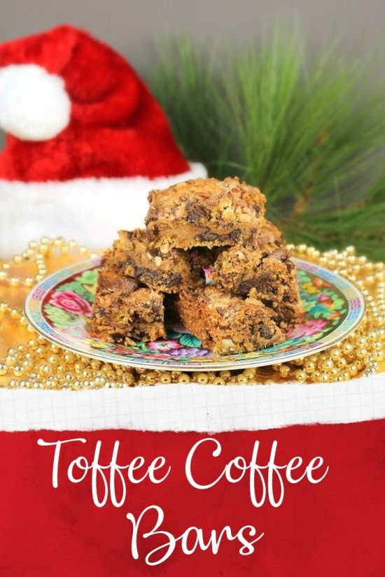 Toffee Coffee Bars