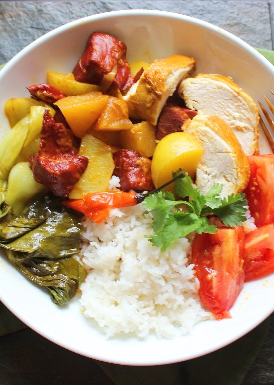 Chicken and Pork Curry
