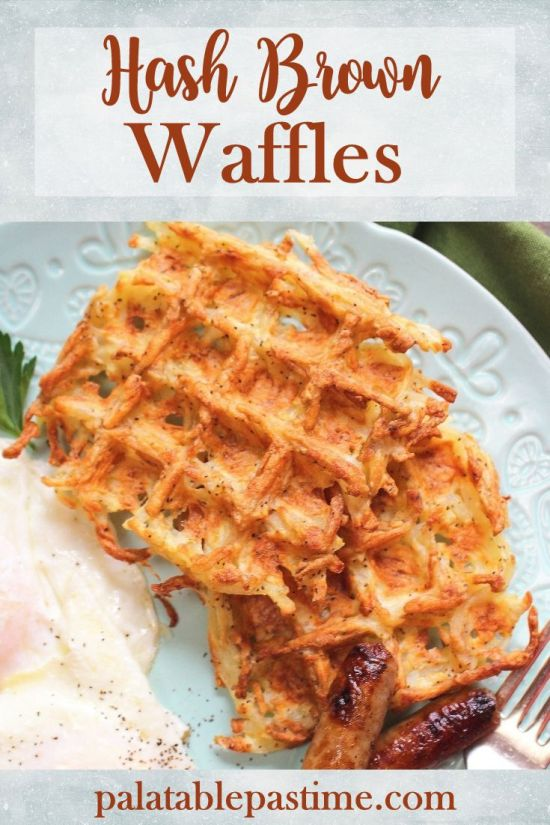 Hash BrownWaffles