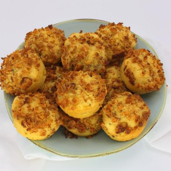 Onion Crunch Corn Muffins