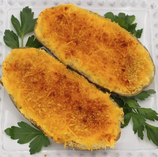 Twice-Baked Cornflake Potatoes