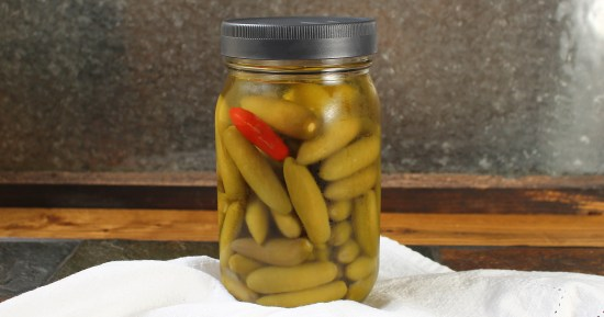 Pickled Sport Peppers