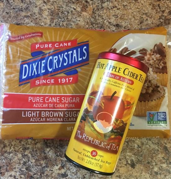 Apple Cider Tea and Brown Sugar