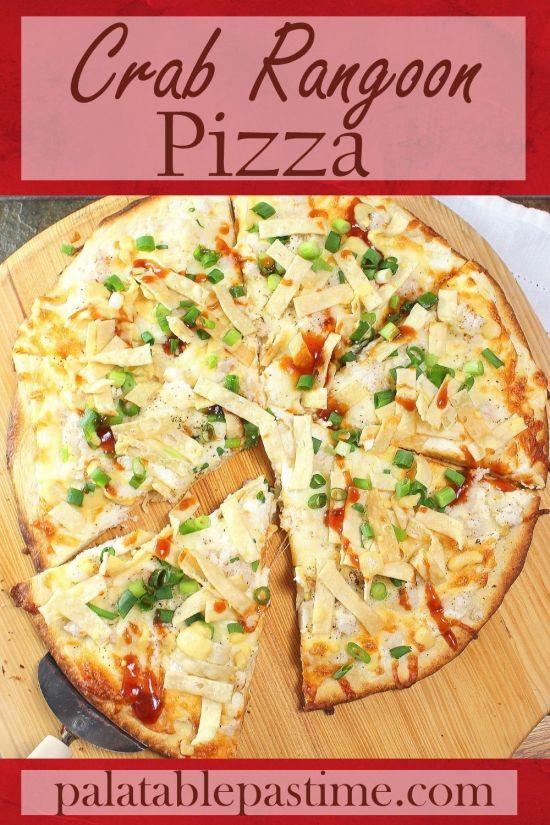 Crab RangoonPizza