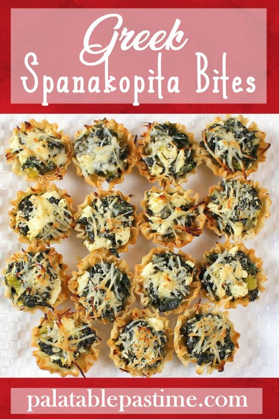 Spanakopita Bites