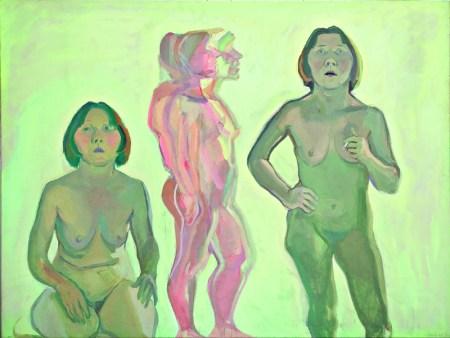 Lassnig_Triple Autorretrato, 1972