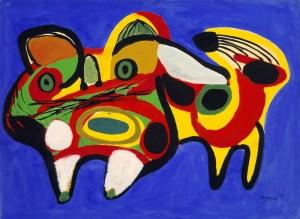 Karel Appel - Le Chat, 1951