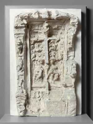 Rodin_Troisième maquette de La Porte de lEnfer_1880